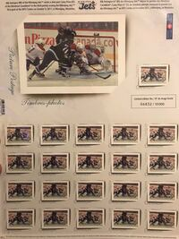 Winnipeg Jets Stamps 2 sheets
