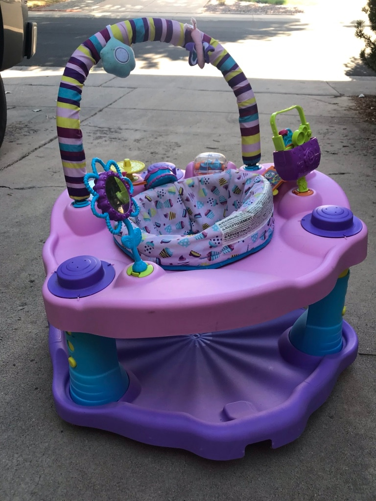 Evenflo Exersaucer Bounce and Learn Sweet Tea Party Sweet Tea Party