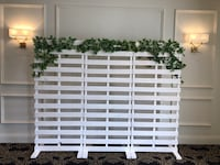 Wood Pallet Backdrop Rental Markham, L3S 3P7