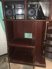Entertainment center and Sony stereo