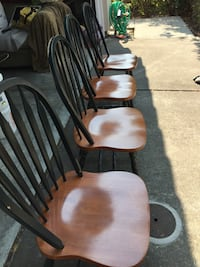 4 Brown wooden chair Milpitas, 95035