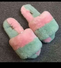 Colorful Cozy Slippers. Chicago