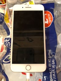 silver iPhone 6 with black case 174 mi