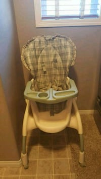 baby's white and gray high chair Chestermere, T1X 1S5