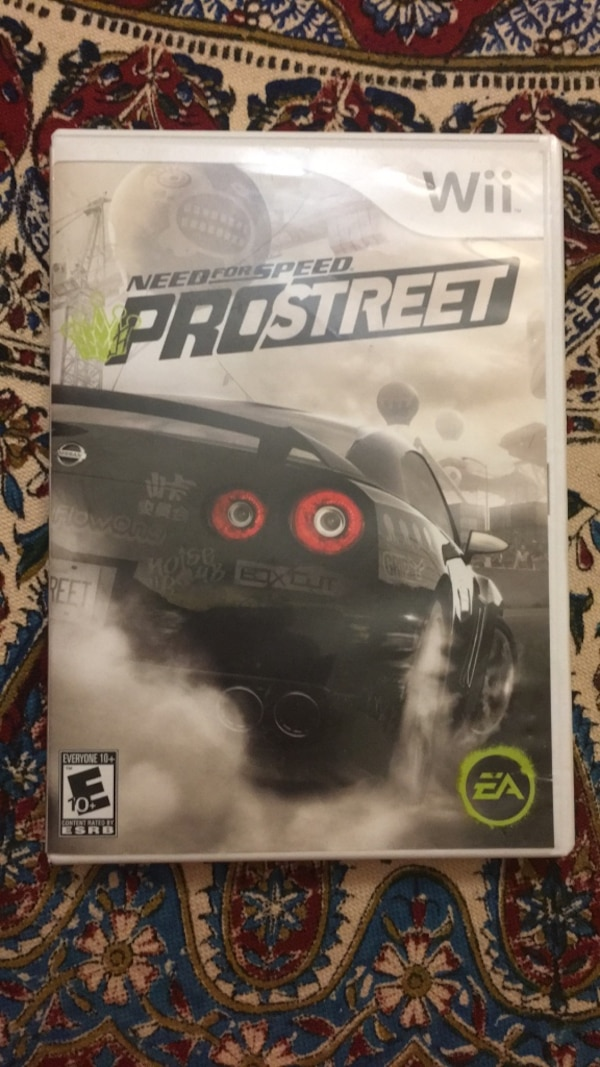 Need For Speed ProSTREET Wii,Wii u also