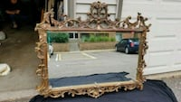 Large Ornate Mirror with Gold Bronze Gilding New Brighton, 55112