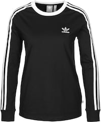black and white Adidas long-sleeved shirt Laval, H7G 1B7