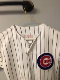 white and blue Chicago Cubs jersey Palatine, 60067