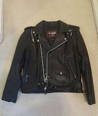 NEW Motorcycle Leather Jacket (L)