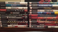 22 PS2 games Falls Church, 22043