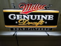 Miller Genuine Draft neon sign Toronto, M1W 2V1