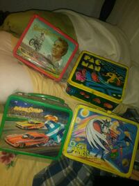 1970 lunch boxes evil  Knievel and mr. Pacman Washington, 20017