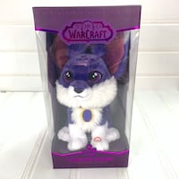 World of Warcraft Shadow Plush Purple Fox Wolf Blizzcon Blizzard 2017 Annandale, 22003