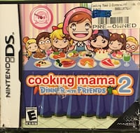 Nintendo DS Cooking Mama 2 Dinner With Friends O'Hara, 15238