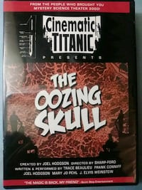 Cinematic Titanic presents The Oozing Skull dvd Baltimore