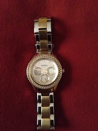 round silver Michael Kors chronograph watch with link bracelet Ravenna, 44266