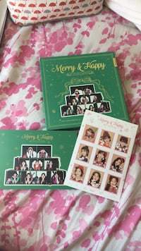 Twice Merry and Happy kpop album Pickering, L1X