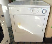 white front-load clothes washer Eugene, 97402