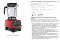 Vitamix 5300 (base only) Germantown, 20874