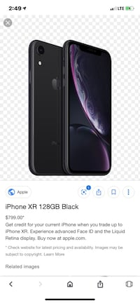 128 gig flawless iPhone XR trade for XS MAX Beaufort, 29906