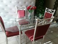 white and red dining set Phoenix, 85006
