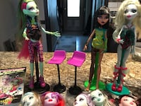 Monster High Doll Lot/Books Youngstown, 44512