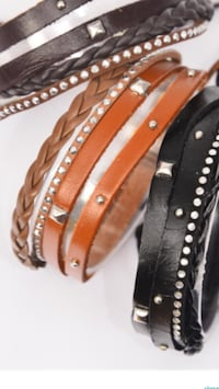 New Leather Bracelets