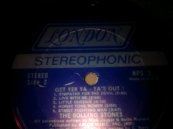 Rolling Stones - Get Yer Ya-Yas Out, 12 inch recor