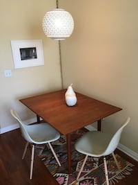 PAIR of DWR Eames Fiberglass Chairs