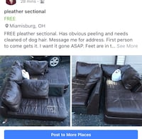 black leather 3-seat sofa screenshot