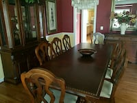 brown wooden dining table set Gainesville, 20155
