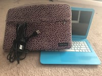 Blue HP stream Laptop, great condition rarely used.  Dallas, 30132