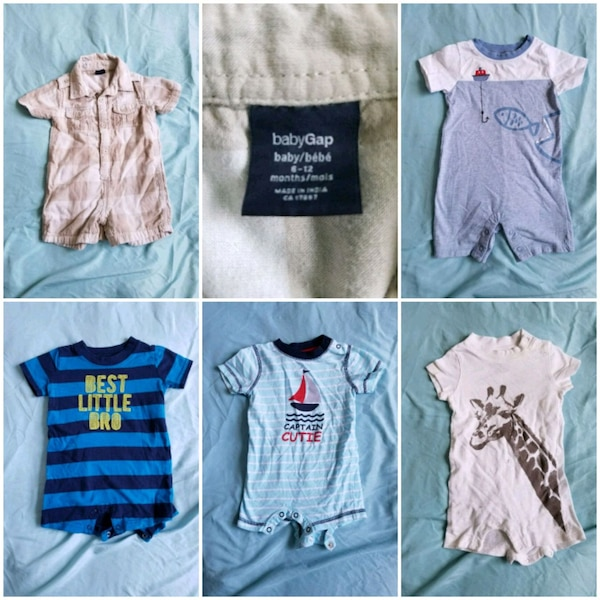 4716da2bfa9 Used Summer Baby Boy Rompers for sale in Mississauga - letgo