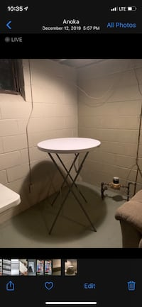 2 life time folding high top tables