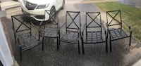 6 Patio Chairs  Barrie