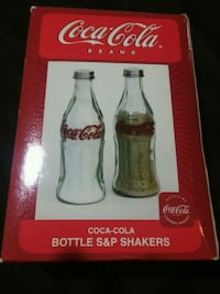 Coca Cola Bottle Salt & Pepper Shakers