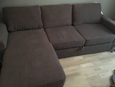 grå sectional sofa