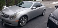 2006 Infiniti G35 Coupe Whitby