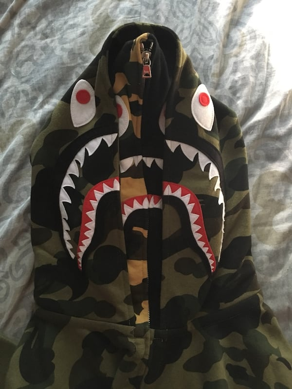 Bape 1st double shark camo 2