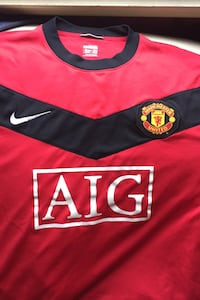 Manchester United retro authentic jersey  Parkville, 21234