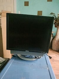 black Dell flat screen computer monitor 379 mi