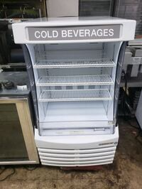"Commercial 30"" open air refrigerator cooler merchandiser open case"