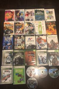 Xbox 360 games , wii and ps2
