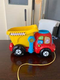 VTech, Drop and Go Dump Truck, Toddler Toy, Construction Toy