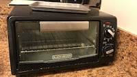 Black and gray black & decker toaster oven Falls Church, 22042
