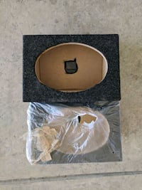 6 x 9 carpeted speaker boxes