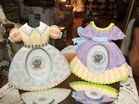 Adorable! Just Precious! Dresses Ceramic pic Frames !!! Gainesville, 20155