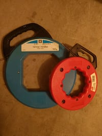 Steel Fish tape 200ft and 40ft