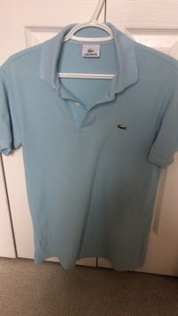 Lacoste baby blue polo size 2 (small) Surrey, V4N 0B8
