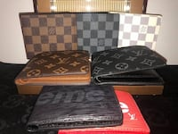 LV Wallets & Belts only $60ea or any 2 for $100 Surrey, V3W 7E7